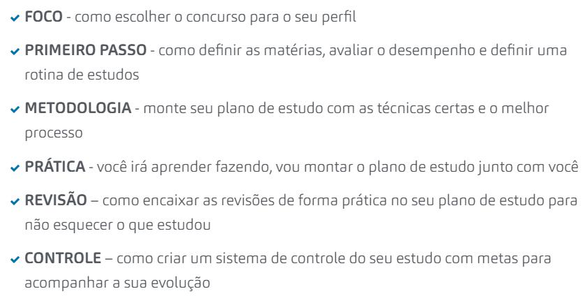 Curso de Planejamento de Estudo para Concursos