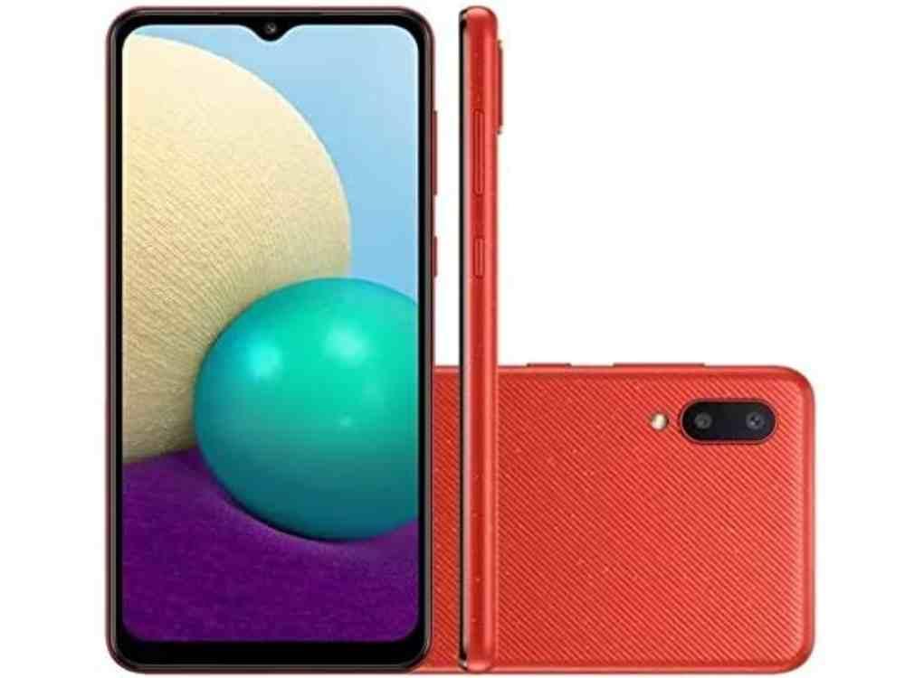Smartphone Samsung Galaxy a02 é bom